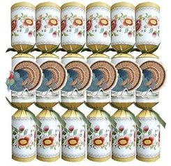 Caspari Thanksgiving Turkey Crackers - 6 pack - out of stock