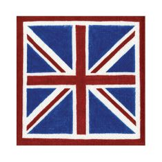 Retro Union Jack Luncheon Napkins - 20ct