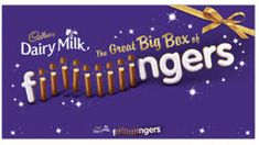 Dairy milk Chocolate Fingers Box - 570g  - Sold Out