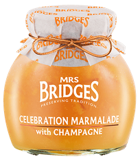 Mrs. Bridges Celebration Marmalade with Champagne - 340g - 5 In Stock