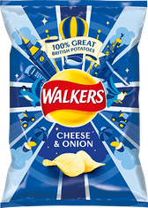 Walkers Cheese & Onion - 32.5g