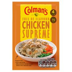 Colman's Chicken Supreme - 38g - Sold Out