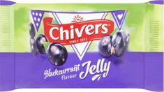 Chivers Blackcurrant Jelly Squares - 135g
