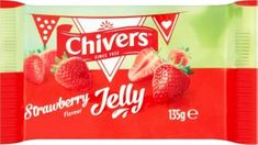 Chivers Strawberry Jelly Squares