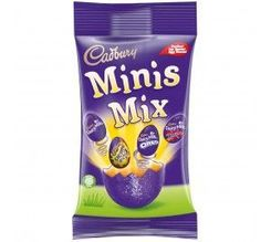 Cadbury Chocolate Eggs Mini's Mix - 240g