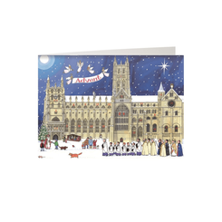 'Christmas at the Cathedral' Advent Calendar Card  - Sold Out
