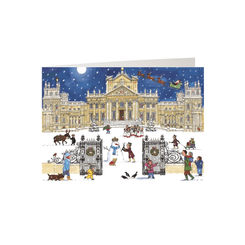 'Christmas at the Palace' Advent Calendar Card - Sold Out