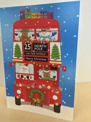 Christmas Bus Card - Sold Out