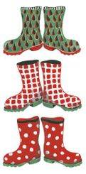 Christmas Wellies Hankies - sold out
