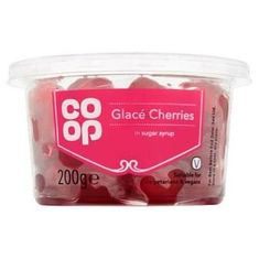 Co op Glace Cherries - 200g - Sold Out