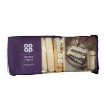 Co Op Sponge Fingers - 125g - sold out