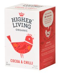 Higher Living Cocoa & Chilli - 15ct Bags - BB Feb 2022