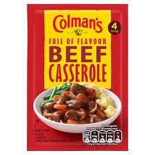 Colman's Beef Casserole - 40g - Sold Out