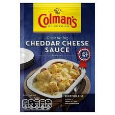 Colman's Cheddar Cheese Sauce - 40g - Sold Out