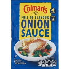 Colman's Onion Sauce - 35g - Sold Out