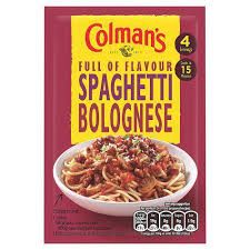 Colman's Spaghetti Bolognese - 44g -  Sold Out