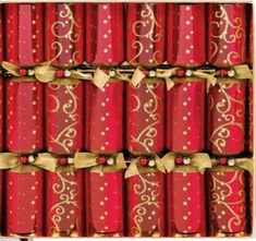 Crimson and Gold Crackers - 6 pack - 2 In Stock