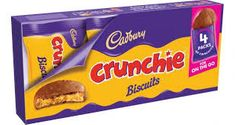 Crunchie Biscuits - Snack Packs - Sold Out