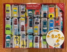 Robin Reed Racing Cars Crackers - 8 pack