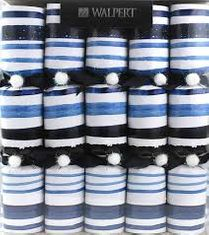 Blue Watercolor Crackers - 10 pack