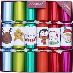 Robin Reed Finger Puppets Crackers - 6 pack