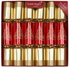 Robin Reed Glisten Tree Road Crackers - 6 pack