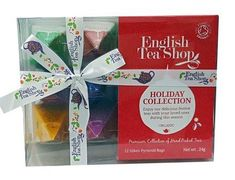 English Tea Shop Red Organic Holiday Collection - 12ct Bags