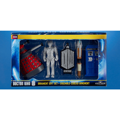 Doctor Who 2D Gift Set Ornaments - 5 piece