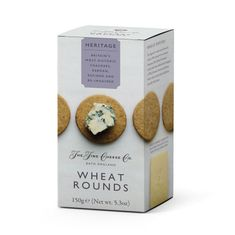The Fine Cheese Co. Wheat  Rounds - 150g