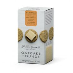 The Fine Cheese Co. Oatcake Rounds - 150g