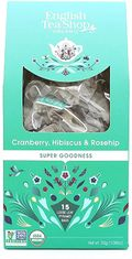 English Tea Shop Cranberry, Hibiscus & Rosehip - Loose Leaf 15ct Bags