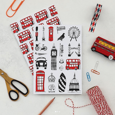 Set of Two London A5 Notebooks - Coming Soon