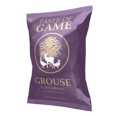 Taste of Game Grouse & Whinberry Crisps - 150g