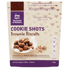 The Foods of Athenry Cookie Shots Brownie Biscuits - 120g