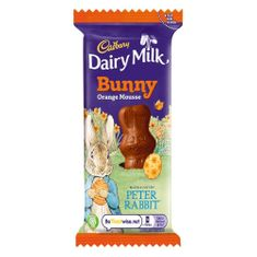 Dairy Milk Orange Mousse Bunny - 30g - Sold Out 2021