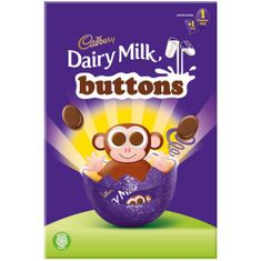 Dairy Milk Buttons Small Egg - 74g