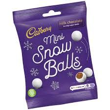 Dairy Milk Mini Snowballs - 90g - Sold Out