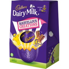 Dairy Milk Marvellous Creations Large Egg - 246g