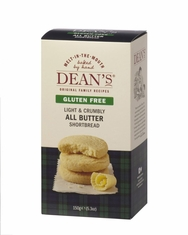 Dean's All Butter Shortbread - Gluten Free - 150g - Sold Out