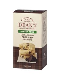 Dean's Chocolate Chip Shortbread - Gluten Free - 150g -  - Sold Out