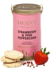 Dean's Strawberry & Pink Peppercorn Shortbread - 150g - Sold Out