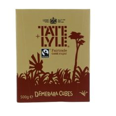 Tate and Lyle Demerara Sugar Cubes - 500g