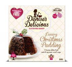 Denise's Delicious Luxury Christmas Pudding - 350g - Sold Out
