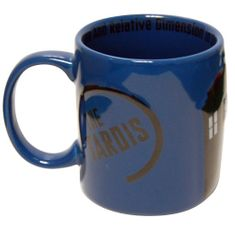 Doctor Who 2D Tardis Ceramic Mug - 2 In Stock