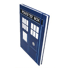 Doctor Who Tardis Notebook - 3 left