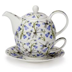 Dunoon Dovedale Harebell - Tea for One - Sold Out
