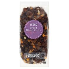Tesco Dried Mixed Fruit - 500g - Sold Out
