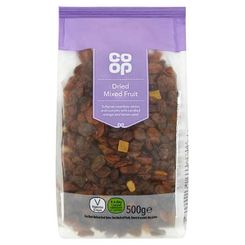 Co op Dried Mixed Fruit - 500g - Sold Out
