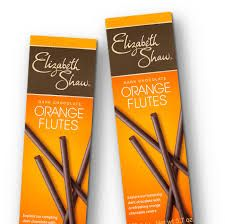 Elizabeth Shaw Dark Chocolate Orange Flutes - Sold Out 2020