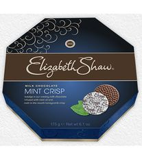 Elizabeth Shaw Milk Chocolate Mint Crisps - 175g -1  In Stock